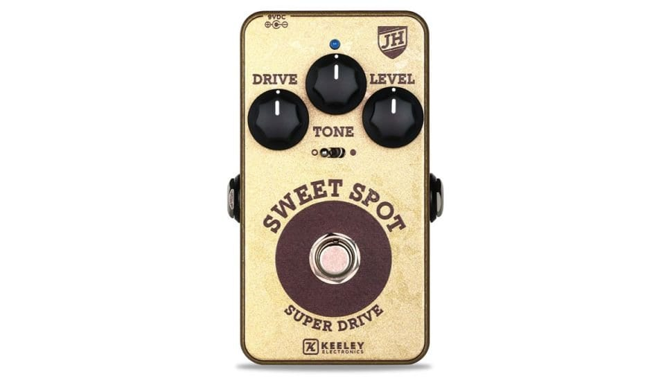 Keeley Electronics Sweet Spot Johnny Hiland Super Drive Overdrive
