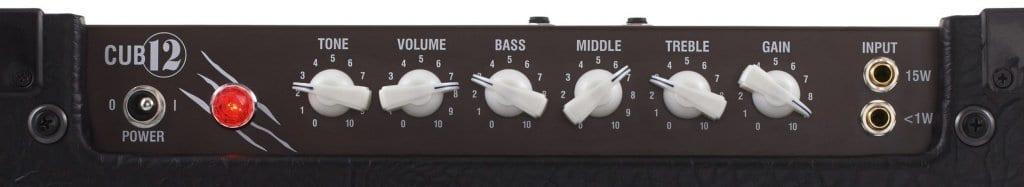 Laney Cub12 Guitar Amp Top Panel