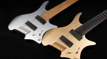 Strandberg gold and silver 10th anniversary models