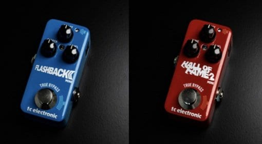 TC Electronic Hall of Fame 2 Mini Reverb and Flashback 2 Mini Delay