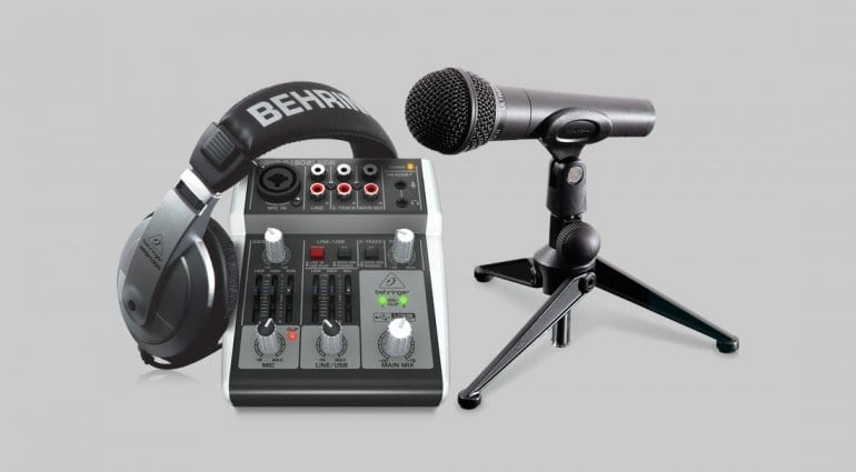 Behringer Podcastudio 2 USB