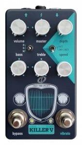 Killer V Crazy Tube Circuits Magnatone Preamp Vibrato Guitar Effect Pedal