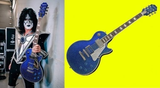 Epiphone Tommy Thayer Electric Blue Les Paul