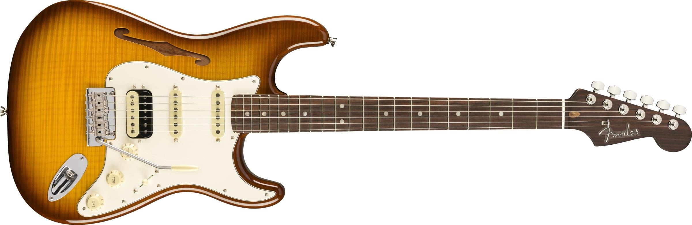Fender Rarities Flame Maple Top Stratocaster front