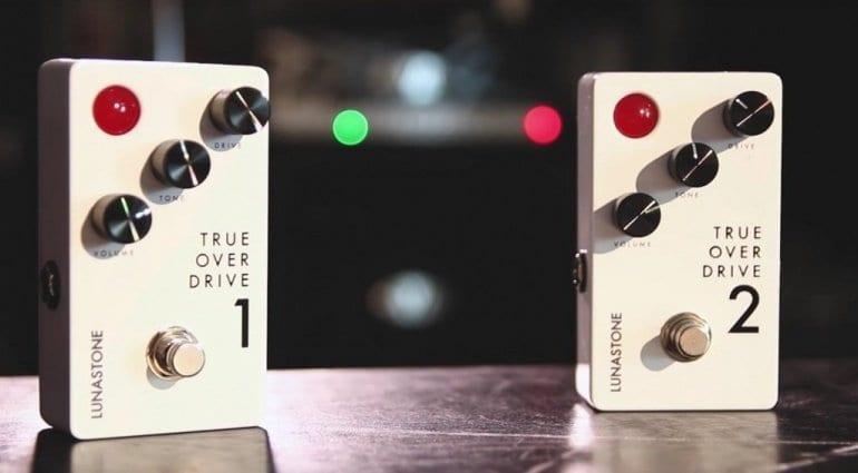 39 instead of 149 Euro - Lunastone True Overdrive 1 effect pedal