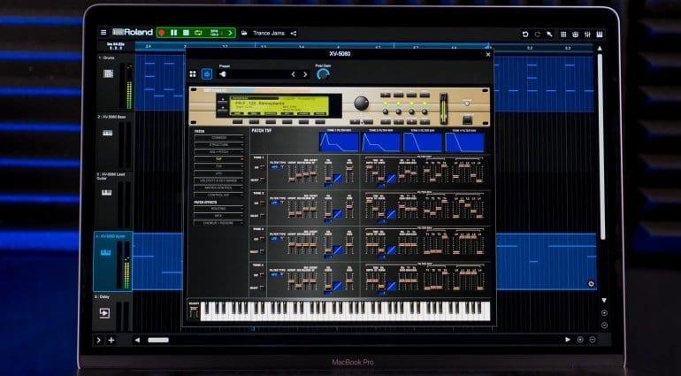 Roland Cloud XV-5080 Editor