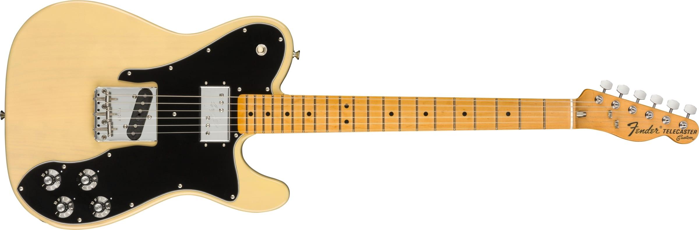 Fender American Originals 70s Telecaster Custom Vintage Blonde