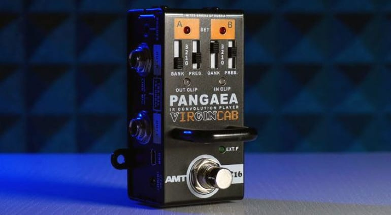 AMT Pangaea VC16 VirginCab with footswitchable IRs