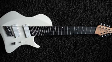 Abasi Guitars Larada 8 in Olympic White