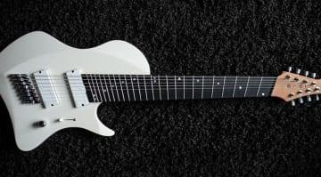 Abasi Guitars Larada 8 in Olympic White