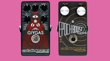 Catalinbread Giygas fuzz:EQ and Epoch Boost