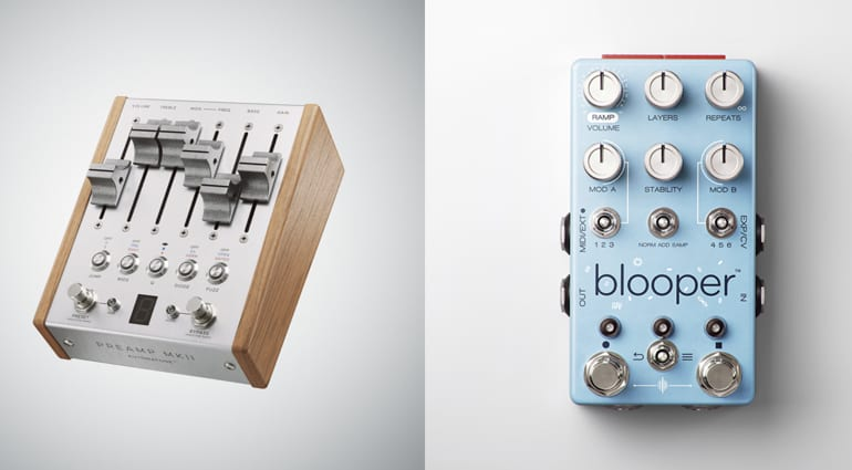 Chase Bliss Audio Automatone Preamp MKII and Blooper