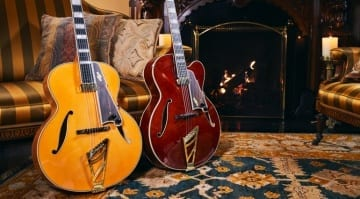 D'Angelico Excel Series Throwback Collection '30s style