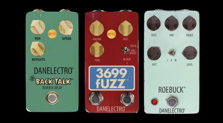 Danelectro Back Talk, Roebuck and 3699 Fuzzpedals