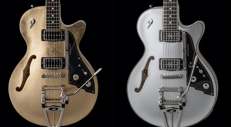 Duesenberg 25th Anniversary Starplayer TV Silver & Gold limited editions