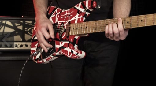 EVH Striped Series Frankie - Dive-bomb on a budget!