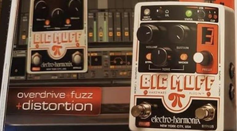 Electro Harmonix Big Muff Pi Hardware Plugin leaked