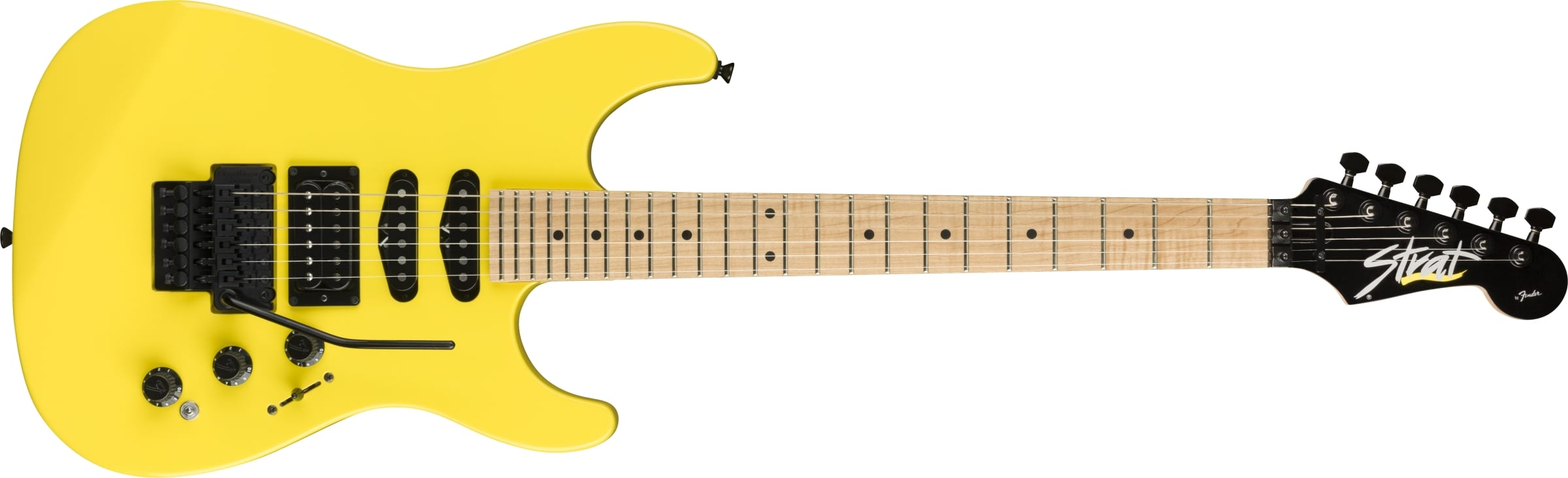 Fender HM Strat Frozen Yellow