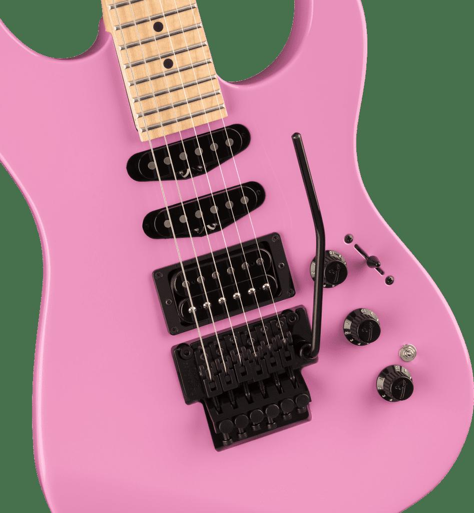 Fender HM2 Strat reissue Flash Pink limited edition
