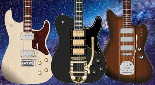 Fender Parallel Universe II collection