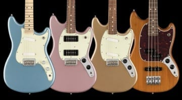 Fender Player Series Mustang, Mustang 90, Duo-Sonic & Mustang Bass PJ