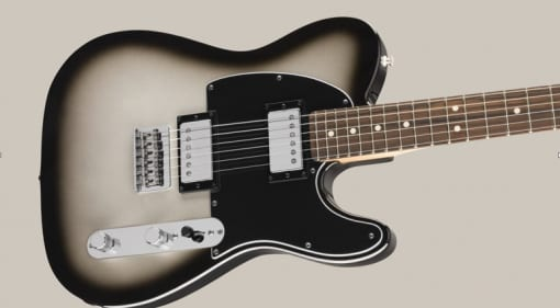 Fender Player Series Silverburst HH Telecaster released in Europe