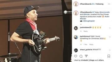 Fender Tom Morello Signature model