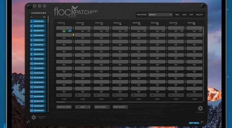 Flock Audio Patch app