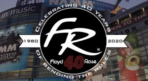 Floyd Rose Ruby celebrates 40 years of dive-bombs