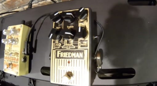 The new Friedman Small Box pedal based on amp of the same name