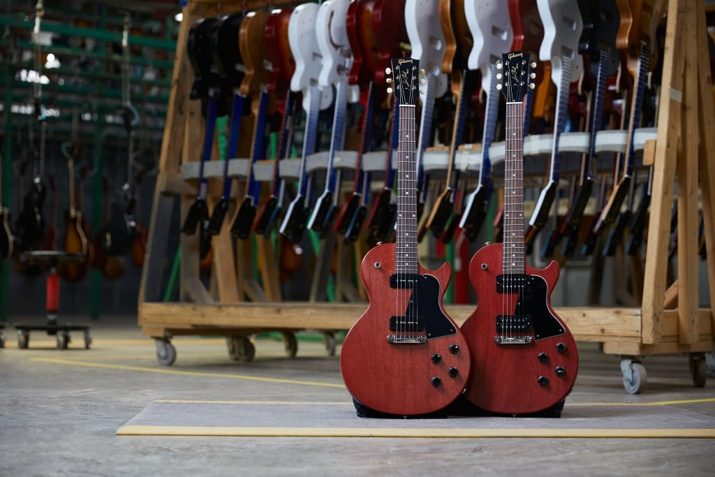 Gibson Modern Collection Les Paul Heritage P90 or Humbukcer equipped