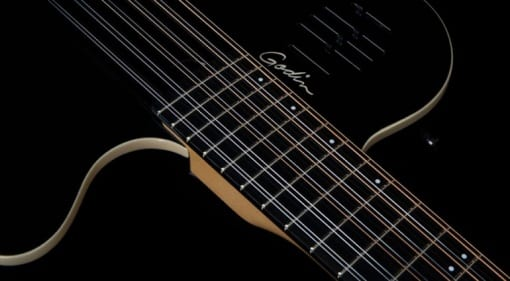 Godin A12 Black HG chambered 12-string