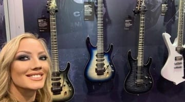 Ibanez Nita Strauss JIVA X and JIVA Junior