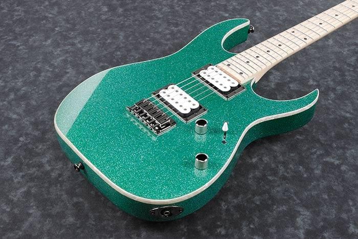 Ibanez RG421MSP Turquoise Sparkle