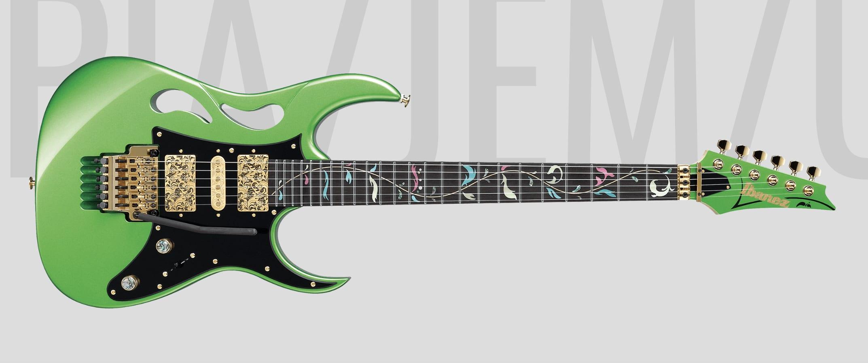 Ibanez Steve Vai PIA 'Paradise In Art' Envy Green