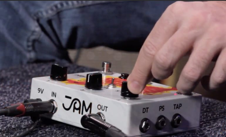 JAM Pedals Delay Llama Xtreme with CV and Expression pedal control