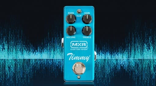 MXR Timmy pedal designed with Paul Cochrane
