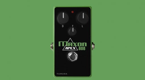 Maxon Apex808 overdrive - The Ultimate Tube Screamer?