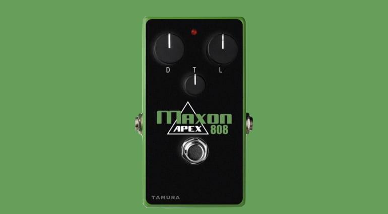 Maxon Apex808 overdrive - The Ultimate Tube Screamer?