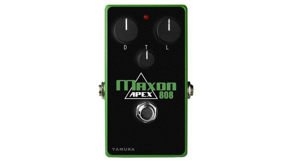 Maxon Apex808 overdrive pedal. The ultimate Tube Screamer?