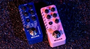 Mooer Micro Series pedals A7 Ambiance and D7 Delay