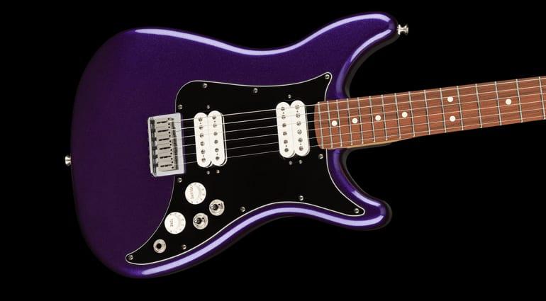 NAMM 2020- Leak Fender Player Lead III 2020 Purple Metallic