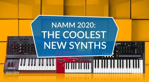 NAMM 2020 The Coolest New Synths