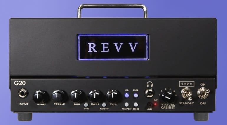 Revv G20 Lunchbox Amp head