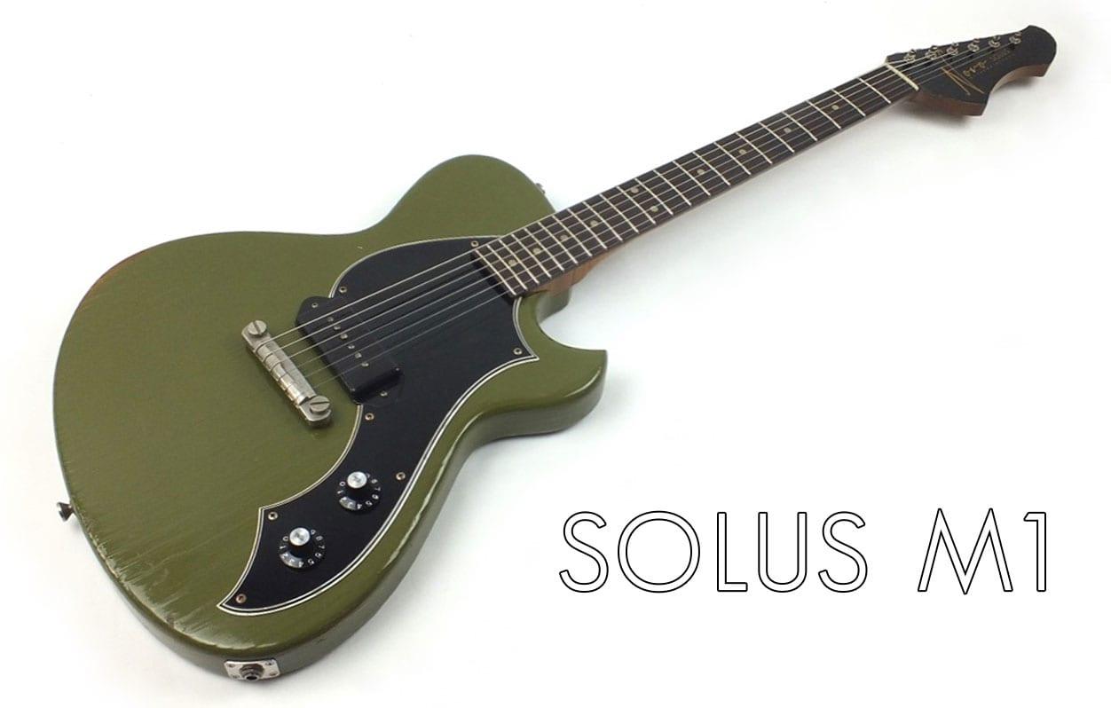 Novo Guitars Solus F1