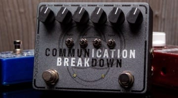 SolidGoldFX Communication Breakdown 2-in-1 Tonebender fuzz
