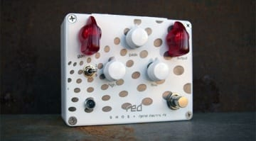 Spiral Electric FX and SHOE Pedals Red Spiral Drive Channel