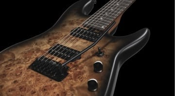 Sterling By Music Man Jason Richardson 7-String Cutlass