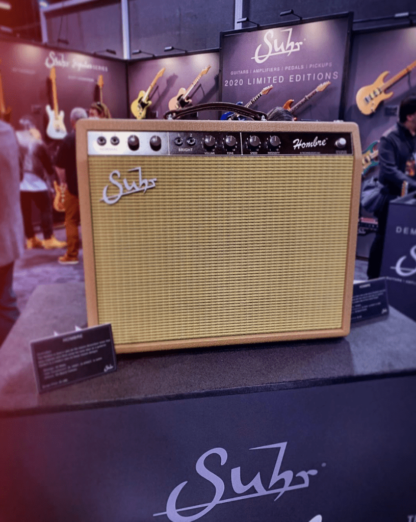 Suhr Hombre at NAMM 2020
