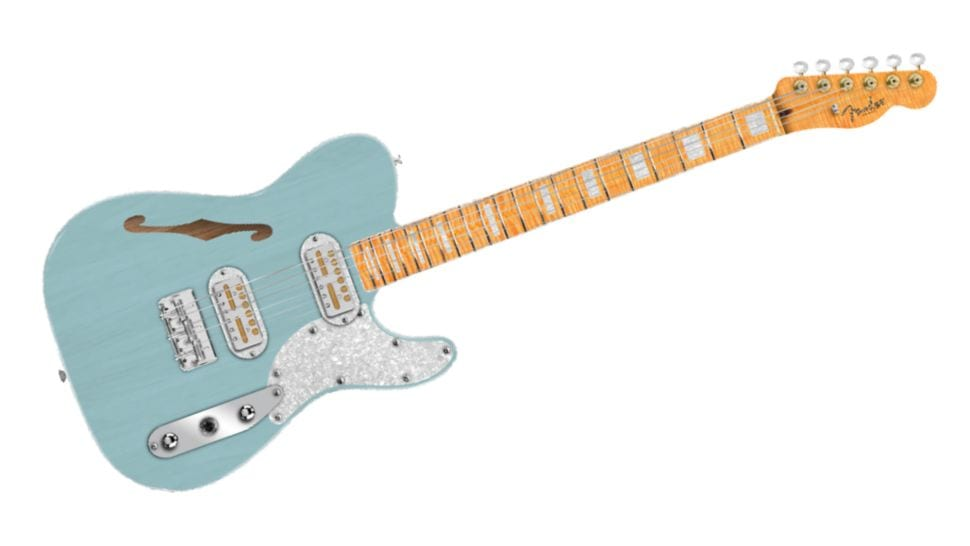 Fender Tele Mágico co-designed with Ron Thorn